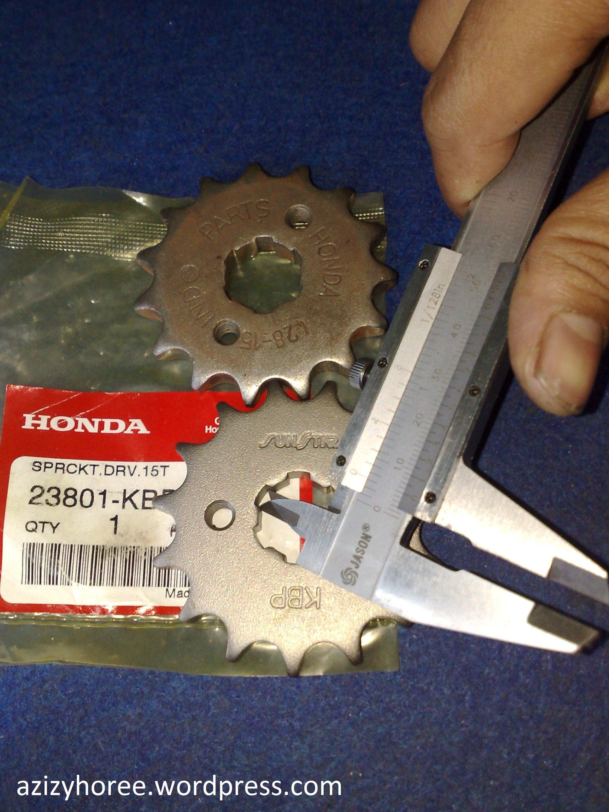 OTOMOTIF Subsititusi Gear Honda CBR 150