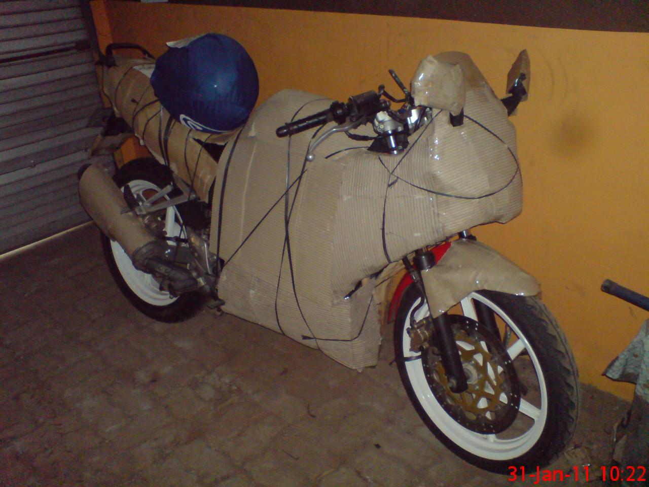 Tips Sebelum Kirim Motor Anda Via Paket Ekspedisi Azizyhorees Blog Ongkos Bukan Gp Mono 125