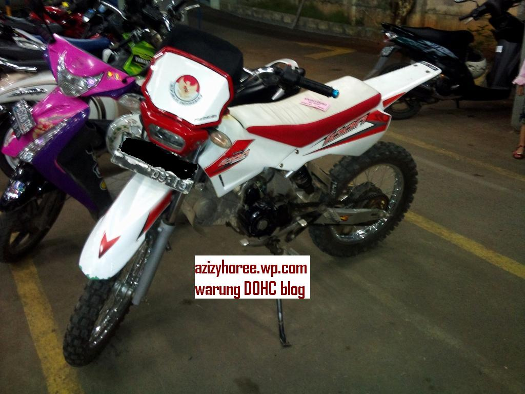 Honda Supra Fit Rasa Trail Bonsai Azizyhorees Blog