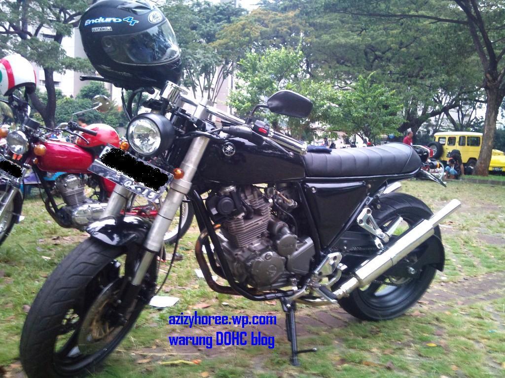 Modifikasi Yamaha Scorpio Retro Mantab Azizyhoree