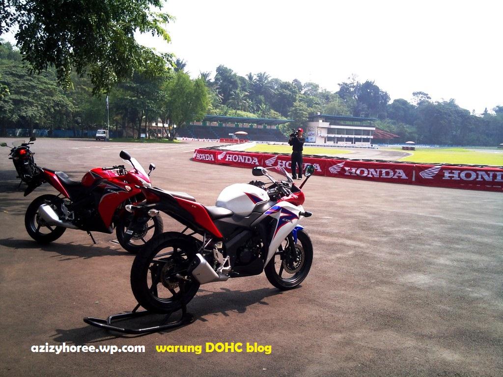 Review Test Ride All New CBR 150 Sentul