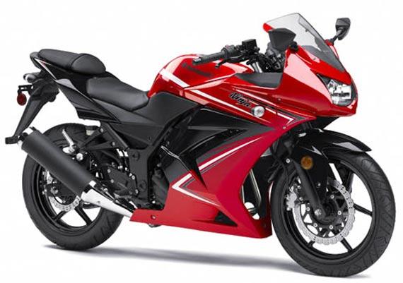 Kawasaki Ninja 250 Merah Modifikasi Ninja