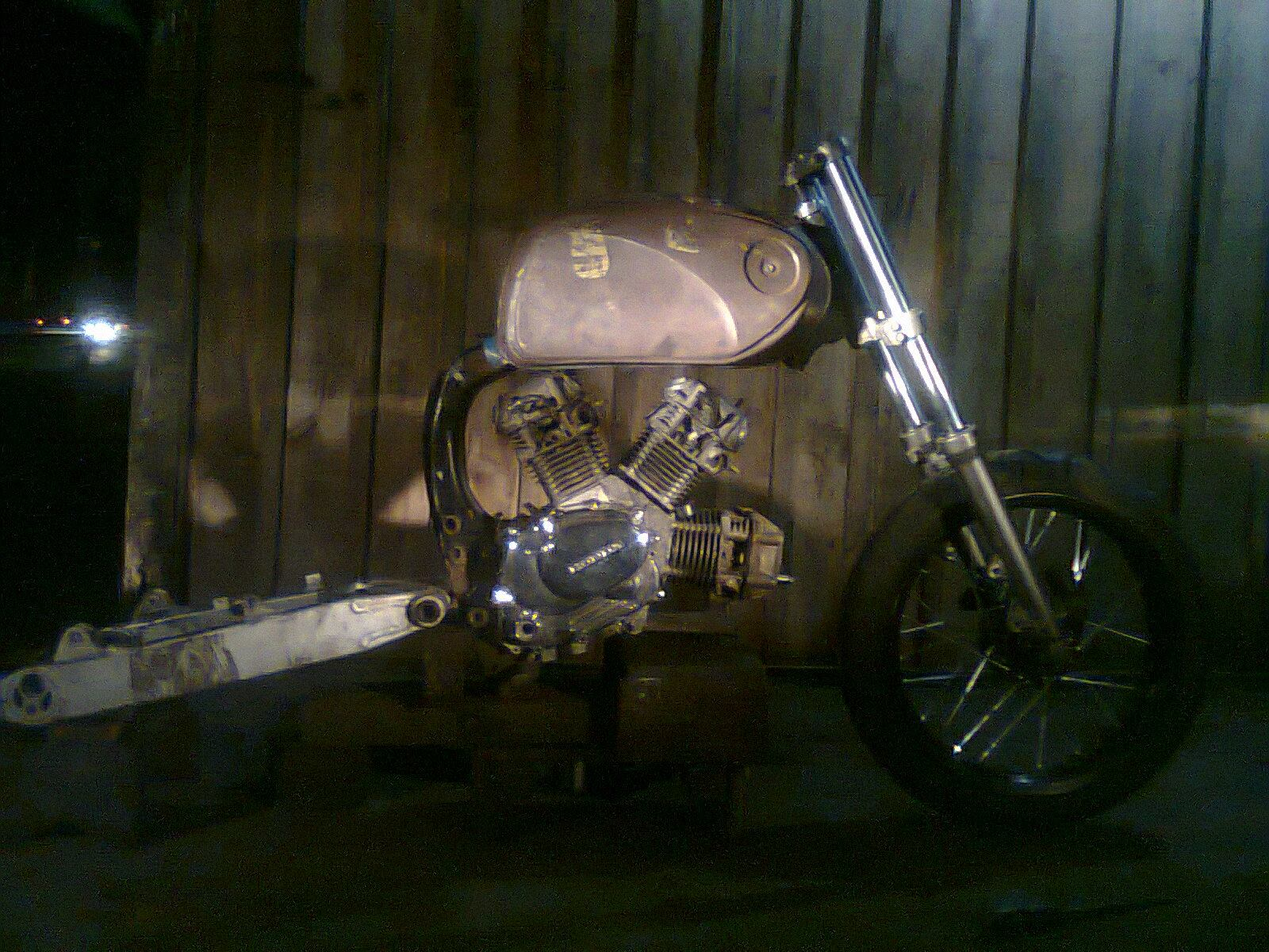 3 Cylinder W Engine From The Crazy Builder Modif Edan Ndonesia