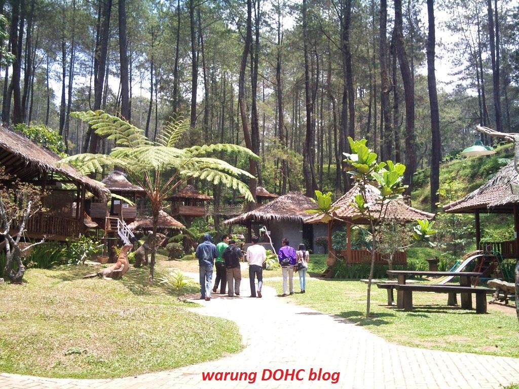 Kawasan wisata yang didominasi hutan pinus ini sebenarnya berada di
