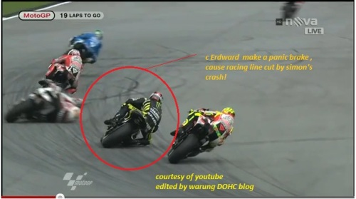 Video Kecelakaan Marco Simoncelli di Sepang Malaysia Oktober 2011