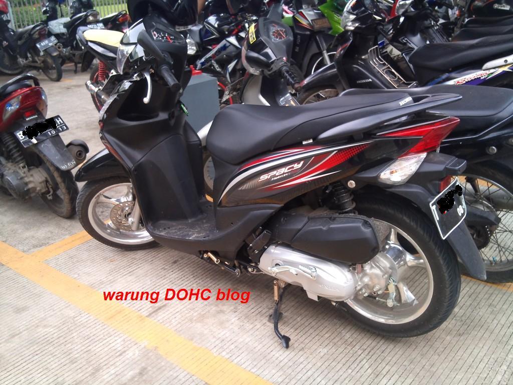 Kumpulan Modifikasi Motor Matic Velg Lebar Terlengkap Kampong Motor