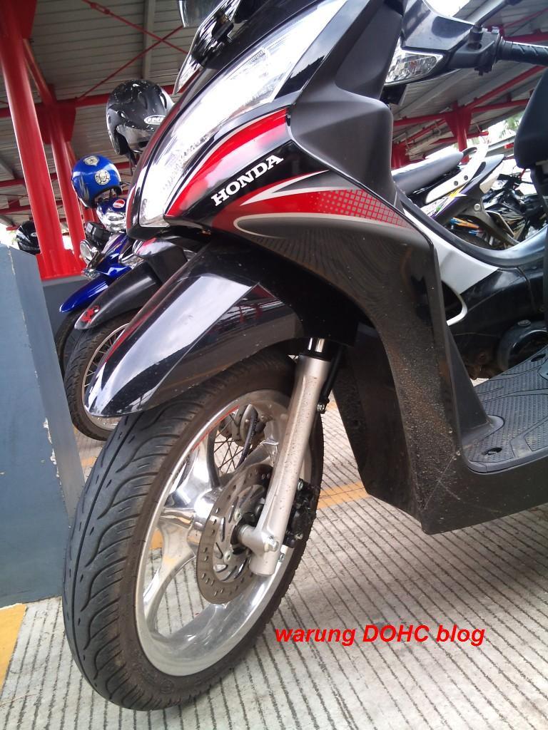 Koleksi 97 Modifikasi Motor Matic Velg Lebar Terupdate Dinding Motor