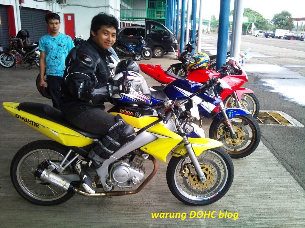 vixion Dwayne racing