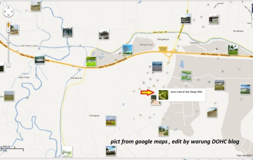 sandiego hills map