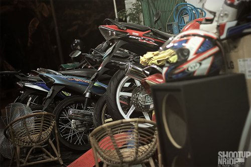 Azizy Jauhari Warung DOHC CBR Beat Wates Workshop shootupnride.com