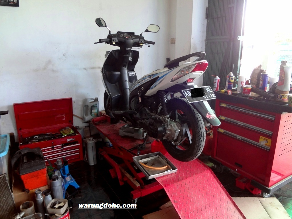 Service Ringan Honda Vario 110 CW Azizyhorees Blog