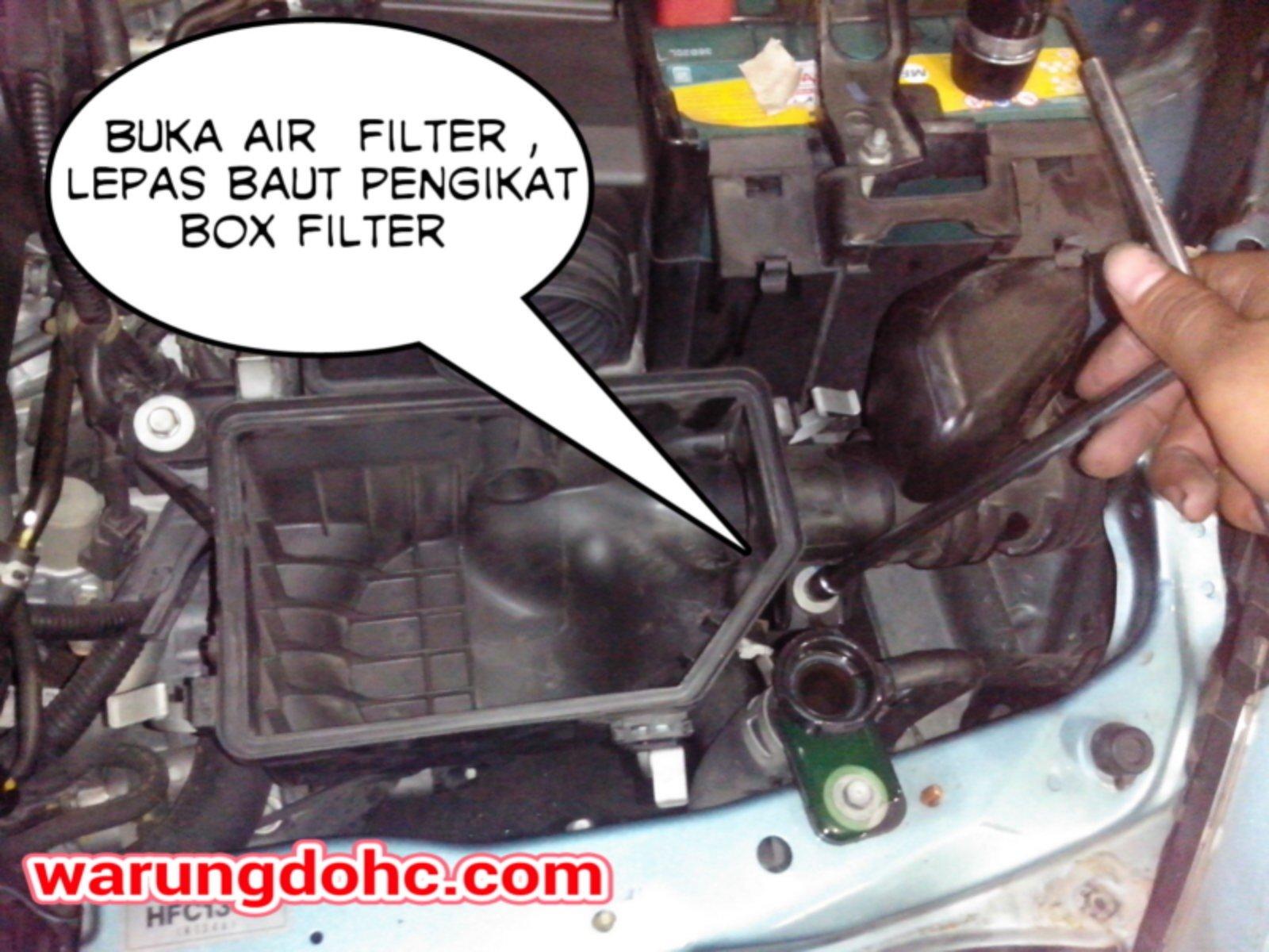 diy] tips bongkar radiator honda jazz vtec 2005-2007