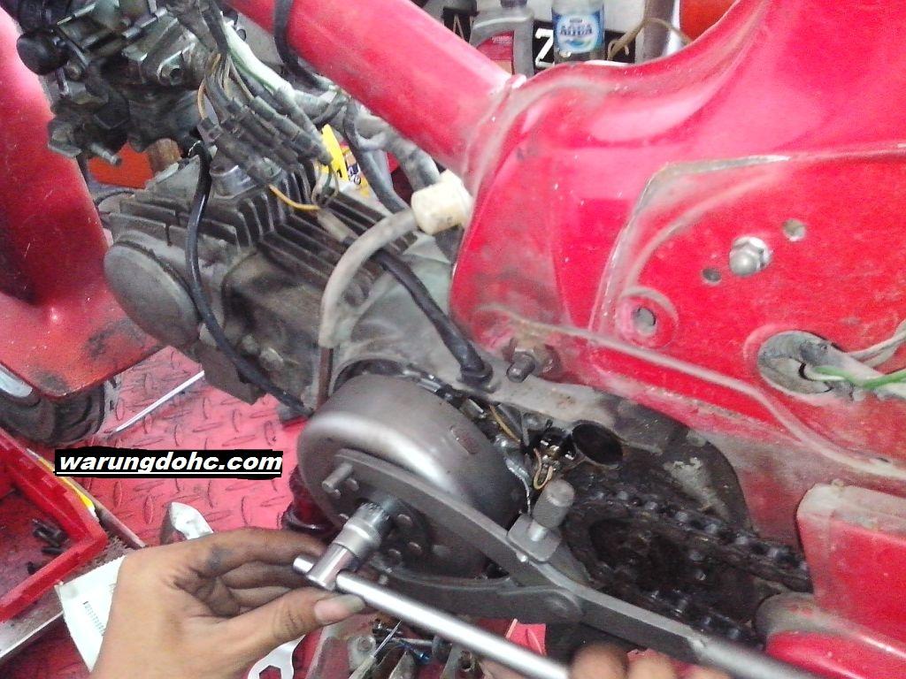 Perbaikan Honda C800 Mogok    Hilang Pengapian