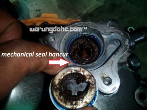 mechanical seal water pump cbr 150